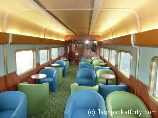 The Gum Tree Lounge on the Ghan