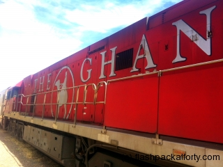 the ghan engine