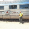 Craig with the Ghan
