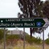 Lasseter Highway Sign
