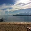 view-from-sunrise-hotel-gili-air-divers-boat
