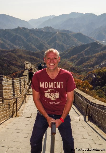 craig-riding-great-wall-of-china-badaling