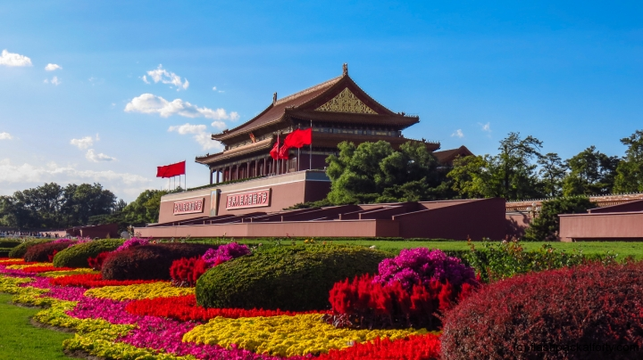 tiananmen-gate-square-flowers