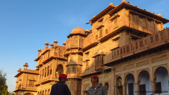 bikaner-palace-guards-and-building