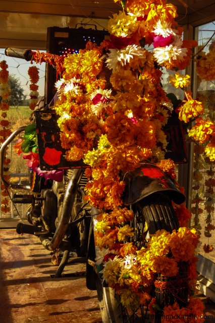 motorcycle-shrine-udaipur-road