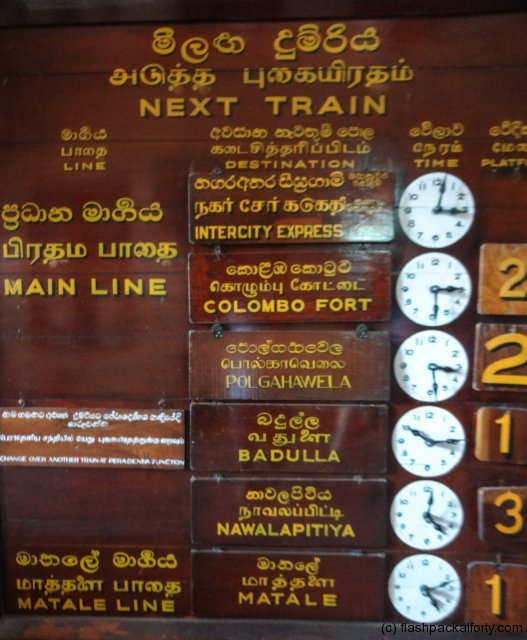 kandy-station-train-sign