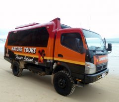 Fraser Island  Tour 4X4 Truck 