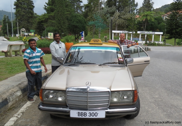 old-mercedes-taxi-cameron-highlands