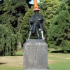 christchurch-botanical-garden-statue-with-cone
