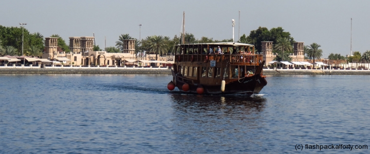boat-on-dubai-creek