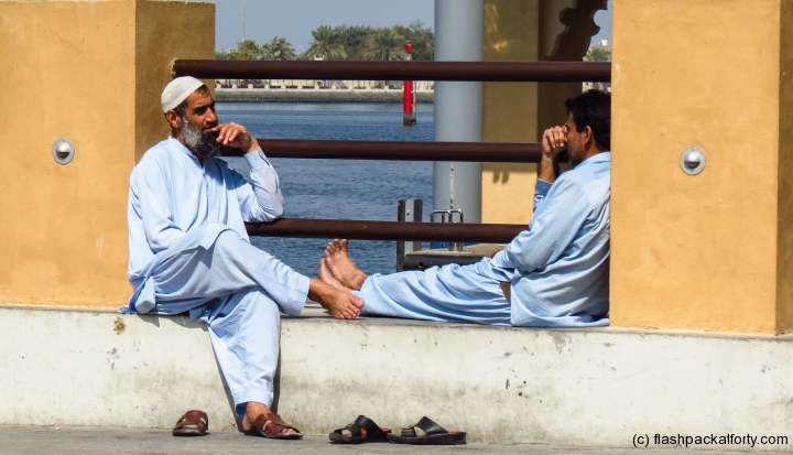 men-rest-at-dubai-creek
