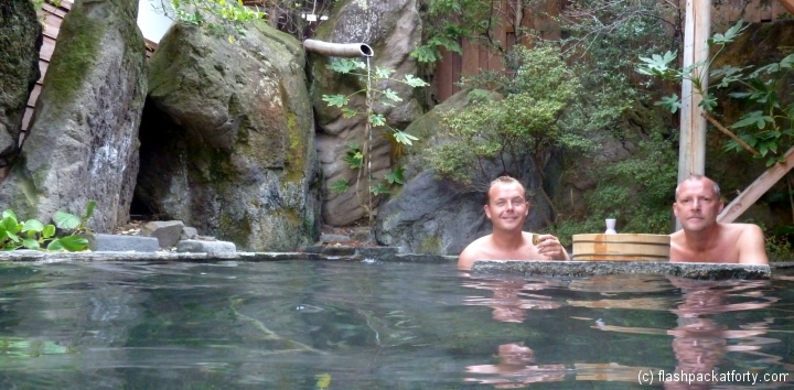 craig-and-john-enjoy-sake-in-japanese-onsen
