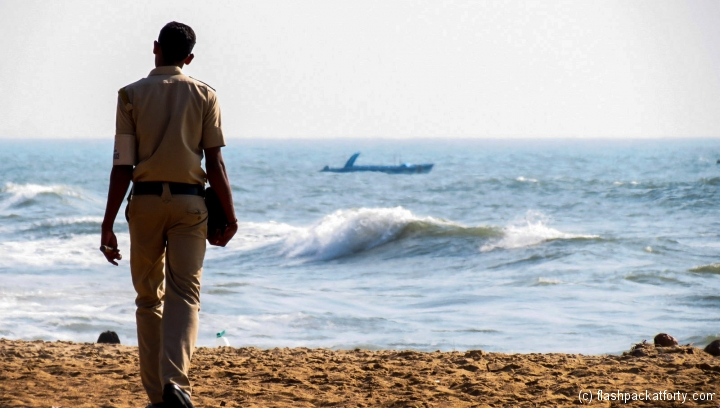 goa-policeman-on-beach