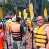 craig readies for kayaking