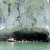cave kayaking halong bay