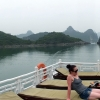 group panorama halong bay