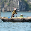 halong bay trader boat 