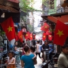 hanoi-street-flags-may-day-2012