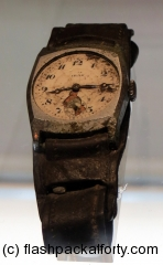 Hiroshima watch stopped at bomb impact time