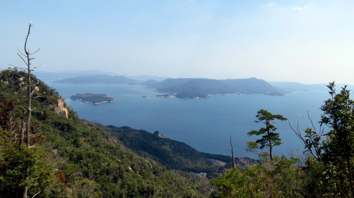 Miyajima mount misen view