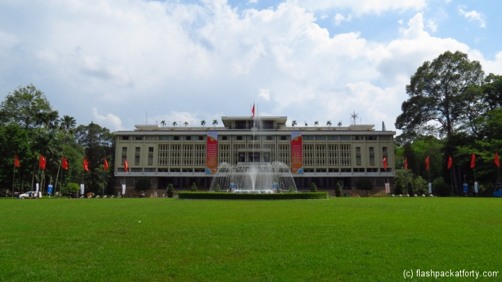Reunification Palace HCMC