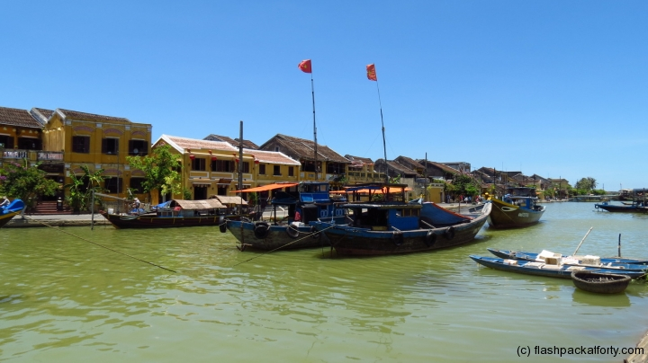 hoi an river view