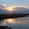hoi an river sunset