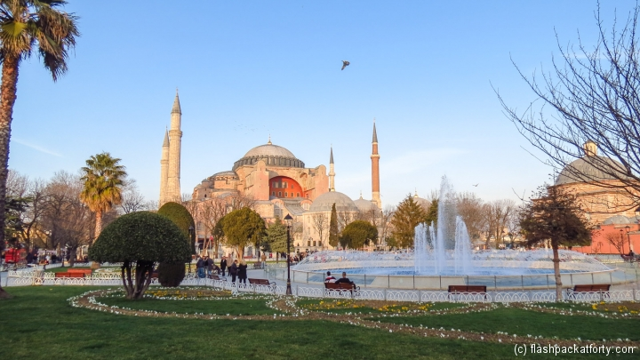 hagia-sofia-and-fountain-istanbul
