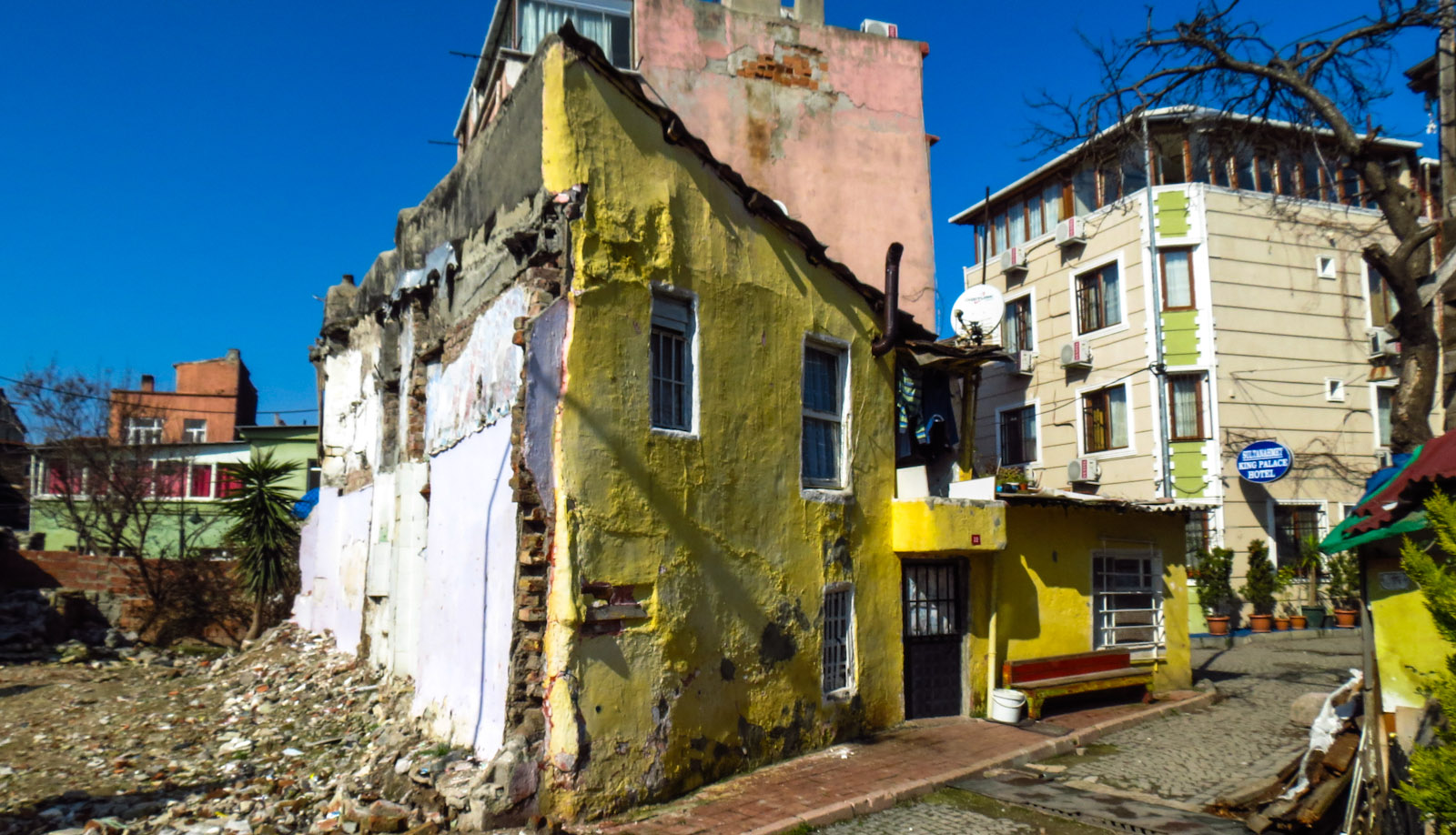 yellow-old-house-istanbul