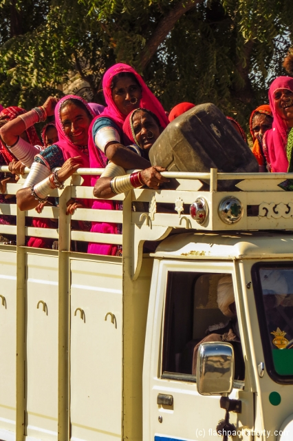 women-in-truck-transport-jodphur