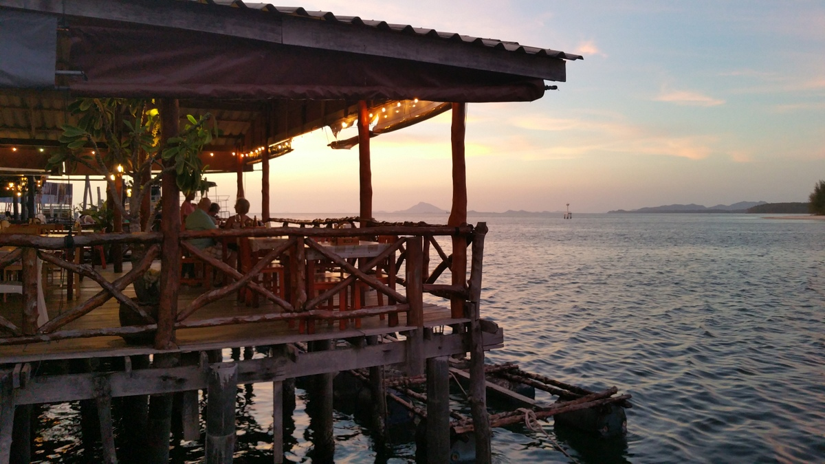 Sunset restaurant Ko Lanta
