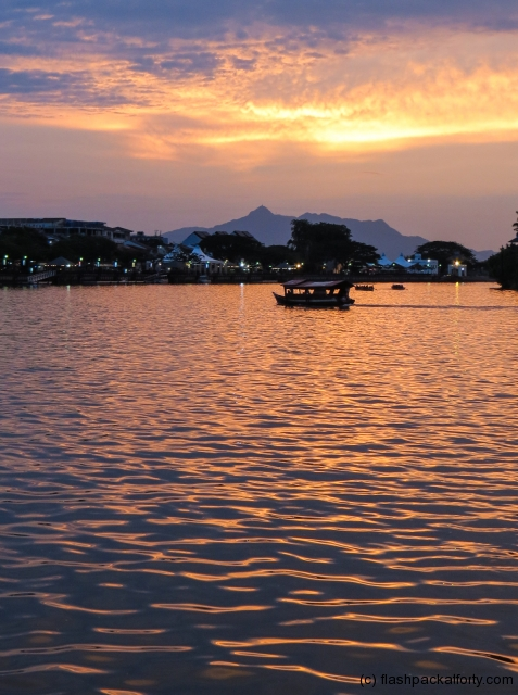 boat-and-kuching-sunset