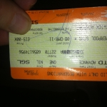 London Train Ticket