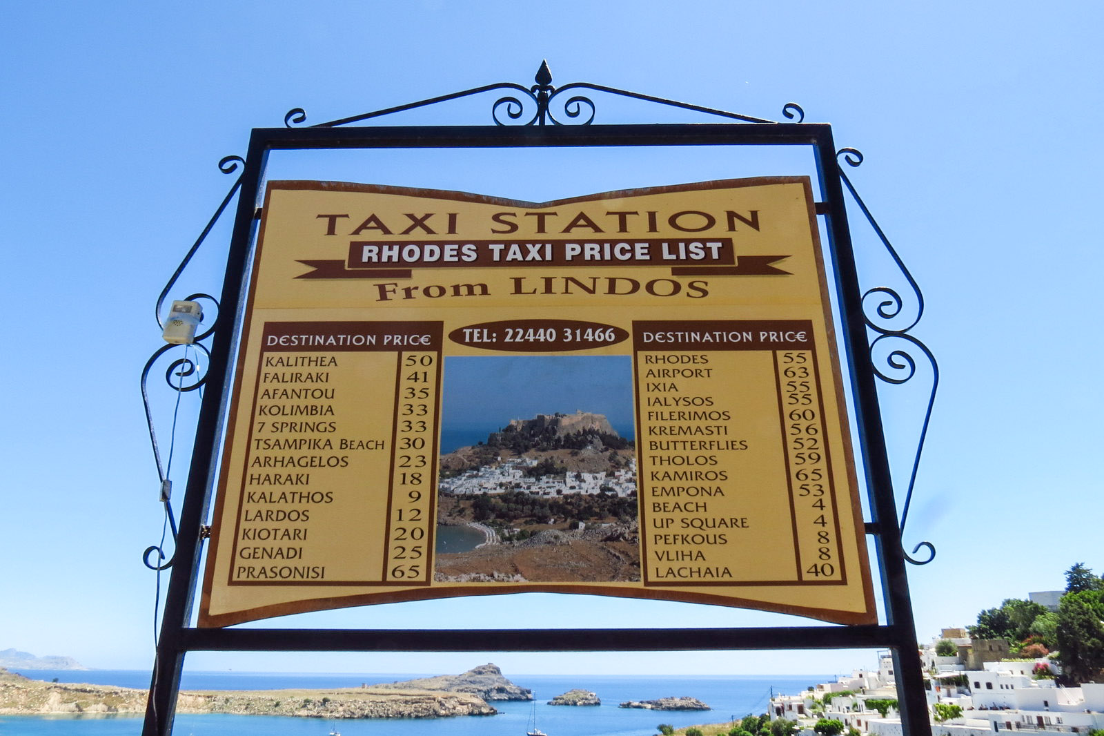 lindos-taxi-prices