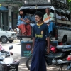 mandalay pick up bus people
