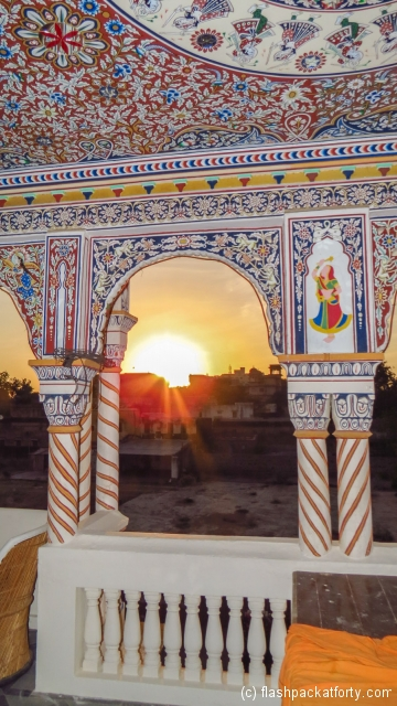 sunset-at-haveli-mandawa
