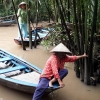 Mekong river boats