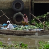 Mekong river fruit boat