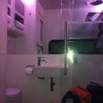 Yotel shower toilet