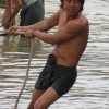 Mingun jetty boatman