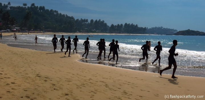 coast-guard-training-mirissa-beach