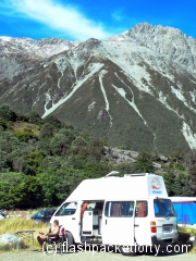 Bertha at Mount Cook DOC Campsite