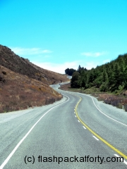 windy road new zealand