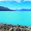 Lake Pukaki  Mount cook