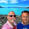 Craig and John Lake Pukaki  Mount Cook