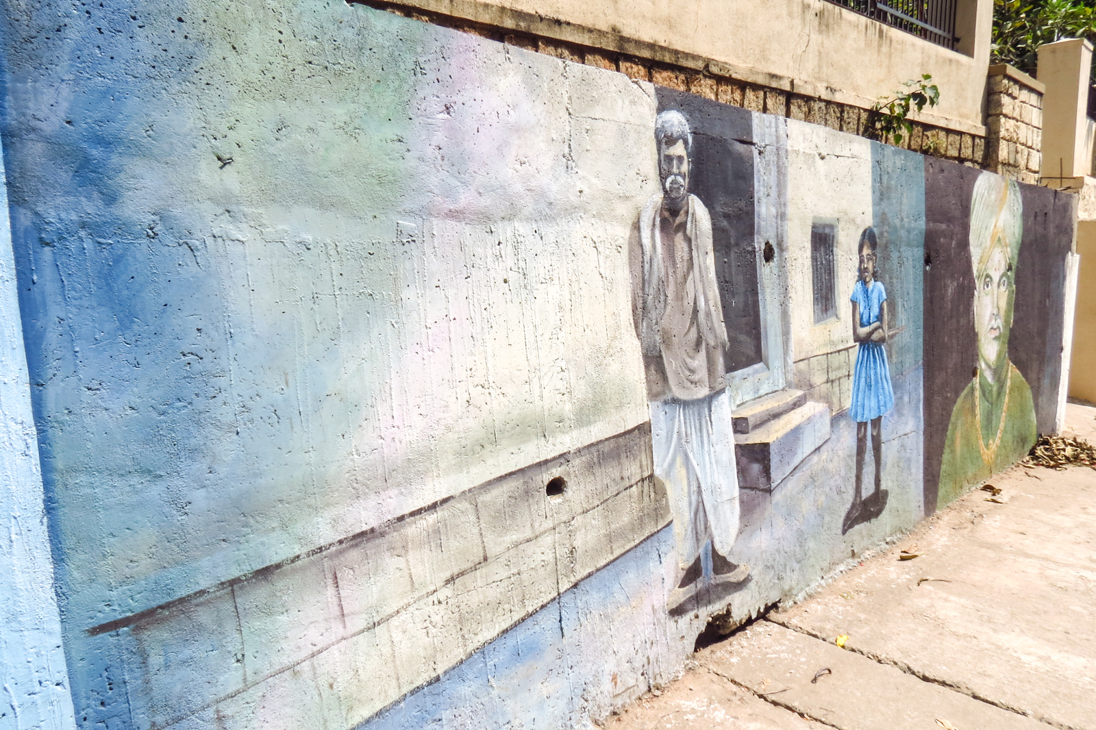 mural-old-man-mysore