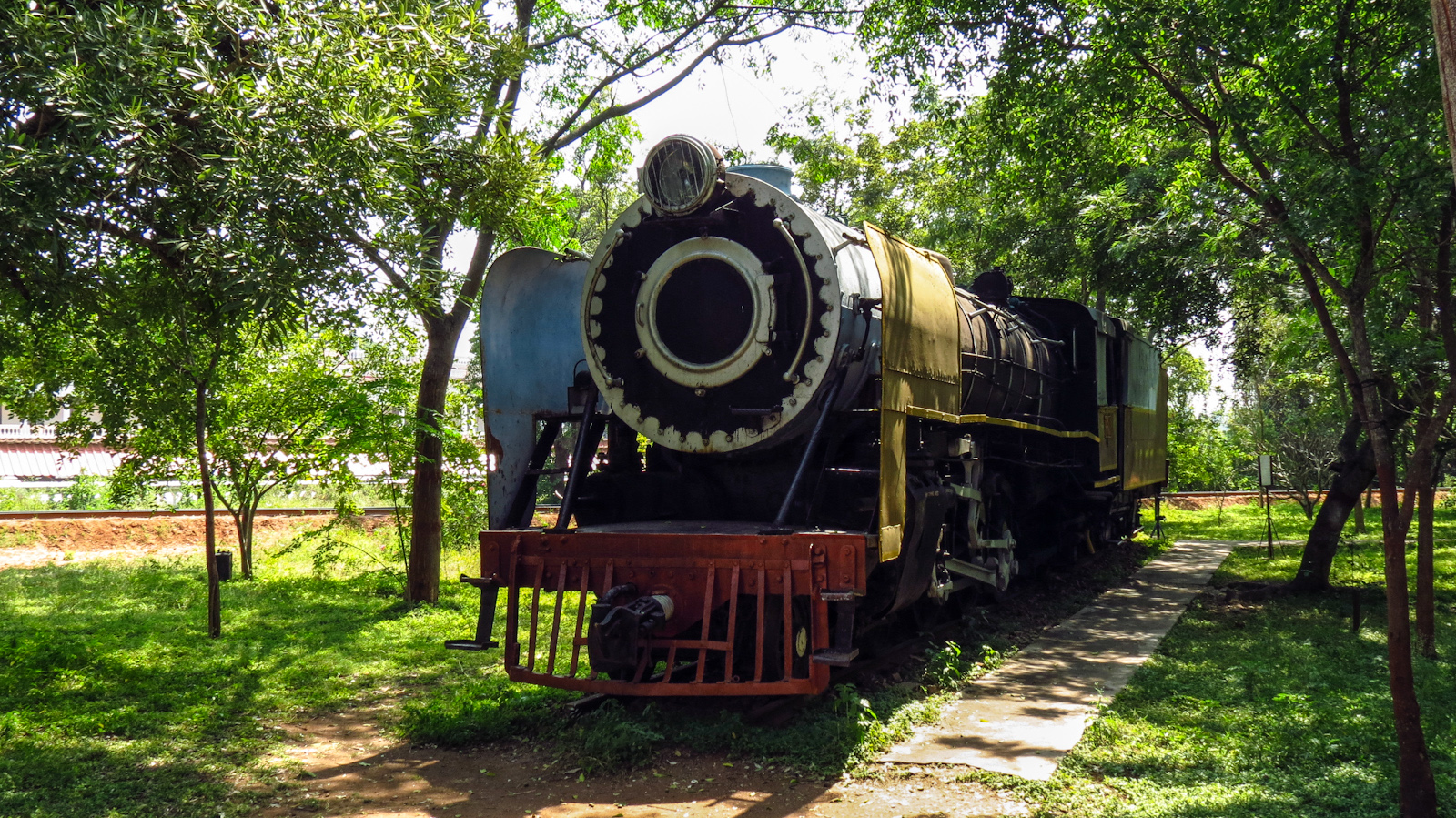 train-museum-engine-mysore