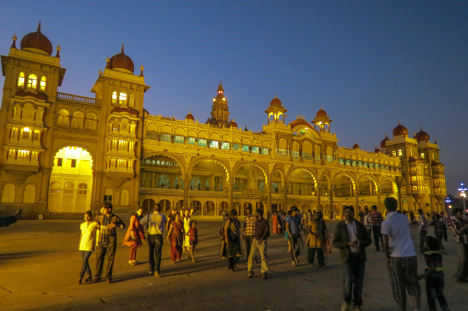 mysore-palace-india-before-evening-lights-go-on