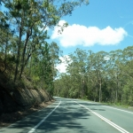 Road shot Noosa