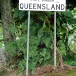 Queensland NSW border Numinbah